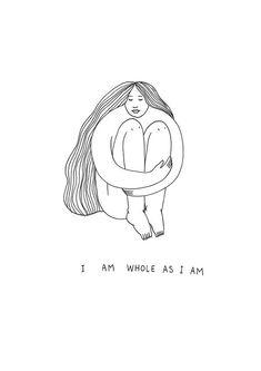Body Love, Loving Your Body, Feminist Art, Self Love Quotes, Art Plastique, Cool Words, Illustration Art, Doodles, Artsy