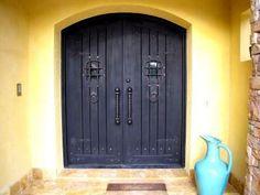 Spanish Style Iron Doors