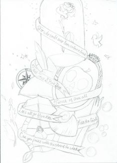 Disney Tattoo Design by Sincerely-Song