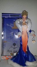 "Collector Barbie Puppe Sammlung ""Fire & Ice"" Doll Salt Lake City 2002"