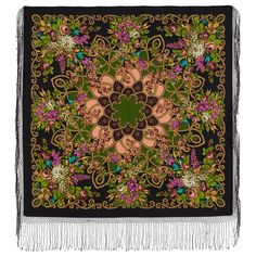 Цыганка Аза - 23 * Павловопосадские платки и шали * Russian Pavlovo Posad shawls