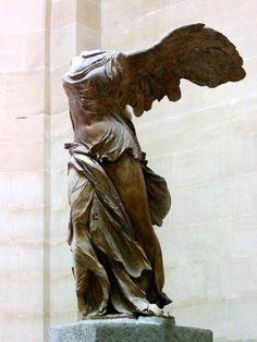 Victoire de Samothrace, my favorite piece from the Louvre, Paris