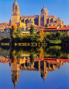 Salamanca is a city in northwestern Spain, the capital of the Province of Salamanca in the community of Castile and León. Its Old City was declared a UNESCO World Heritage Site in 1988.