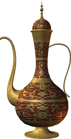 ISLAMIC ART Islamic World, Islamic Art, Islamic Architecture, Art And Architecture, Aladdin Lamp, Copper Kitchen Decor, Antique Keys, Tea Art, Beautiful Artwork