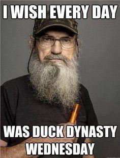 Duck Dynasty - I wish every day was duck dynasty Wednesday