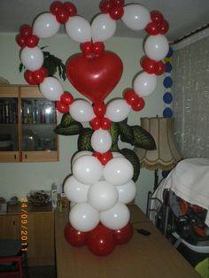 Decoración con globos para bodas Valencia | Casa de globos
