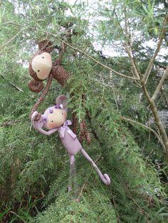 Monkeys - Tilda's toy box