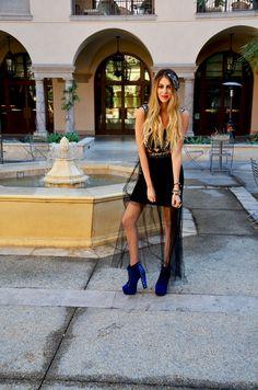 We love how Elaine from FashionLaine styles her boohoo dress #fashion #style #bloggers #love #embellishment #dress >> http://bit.ly/1d3eKB1