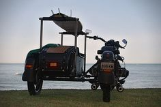 Ural SideCar by Aircraft Designer Peter Adams 6