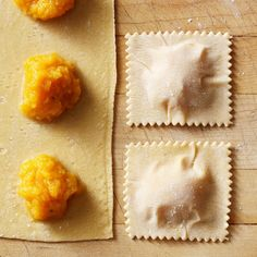 Our Foolproof Guide to Making Fresh Ravioli How To Make Ravioli, Homemade Ravioli, Ravioli Recipe, Butternut Squash Ravioli, Whole Wheat Pasta, Spinach Pasta, Fresh Pasta, How To Make Homemade, Pasta Recipes