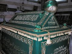 The tomb of Saladin (1138-1193)  in Damascus, Syria. Just beautiful!