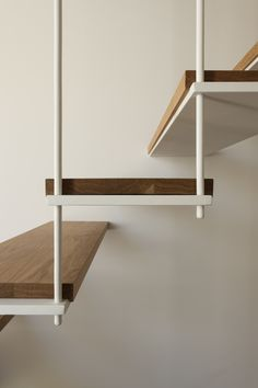 Gallery of Casa Vilarinha / Luís Peixoto - 28 Staircase Handrail, Stair Railing, Staircase Design, Railings, Interior Design Inspiration, Home Interior Design, Interior Architecture, Metal Stairs, Modern Stairs
