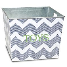 Superieur The Macbeth Collection Personalized Storage Bin In Multiple Designs From  Dot Peacock