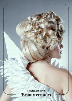 Idei de coafuri si machiaj pentru evenimente speciale.  #beautycreators #donnacarina #masquerade #carnaval Crown, Statue, Fashion, Carnival, Moda, Corona, Fashion Styles, Fashion Illustrations, Crowns