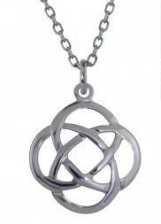 Sterling Silver Celtic Love Knot Pendant - 2147
