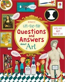 Lift-the-flap questions and answers about art - NEW FOR APRIL 2018
