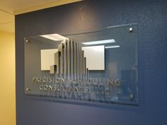 Business Office Decor, Office Signs, Office Lobby, Business Signs, Massage Therapy, Signage, Wall Lights, Ideas, Design
