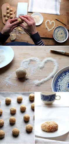Sesam Tahini Cookies *
