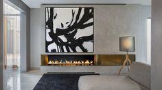 Gran pintura abstracta arte minimalista contemporáneo de