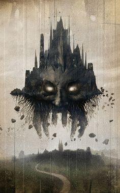 Obsidian Ridge by David Seidman #illustration #dark