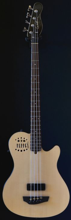 GODIN A4 Ultra four string fretted acoustic bass (via Bass Direct)