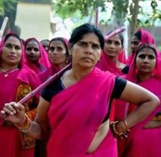 Sampat Pal Devi: Founder of Powerful Gulabi Gang