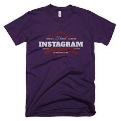 'Instagram friend' men's t-shirt