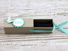 Lippenstift Ziehverpackung mit  Stampin' Up!