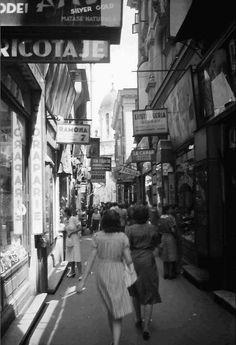 Pasajul Selari, 1942 (Foto: Willy Pragher)