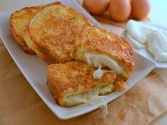 Mozzarella en carroza #queso #mozzarella #tapas #aperitivos #recetas