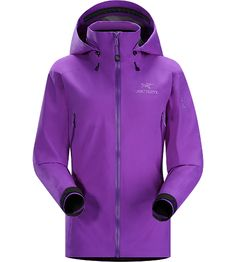 Beta AR Jacket Women's Women-specific, lightweight & packable, waterproof GORE-TEX® jacket; Hip length with a helmet compatible DropHood™. Beta Series: All-round mountain apparel | AR: All-Round.