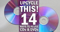 Pull out those CDs and dust them off - get inspired and get crafty with how to upcycle and reuse your CDs and DVDS! You can make DIY coasters and more.