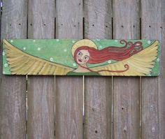 Folk Art Paintings by Debi Lester, Etsy