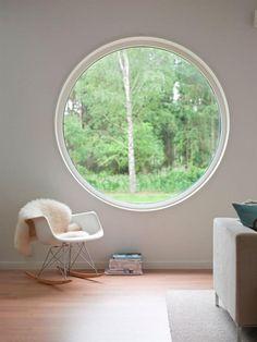Large porthole window, Remodelista