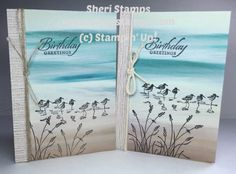 FullSizeRender__3_ Serenity, Stampin Up, Scenery, Paper, How To Make, Cards, Free, Landscape, Stamping Up