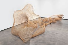 Morning Glory--by Sopheap Pich. Pich draws his materials, primarily rattan and bamboo, from indigenous sources and uses a traditional weaving techniqu