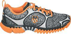 Light-weight running shoe featuring Blade-Light technology and stability enhancement.