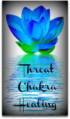The truth WILL set you free, tune up the energy of your throat chakra.  www.chakra-lover.com/blue-chakra.html Blue lotus flower