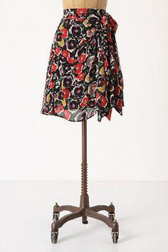 Draped Viola Skirt #anthropologie