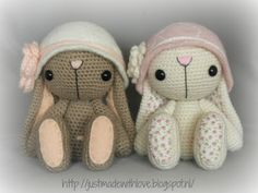 Sweet Bunnies: Just made with love by Antoinette