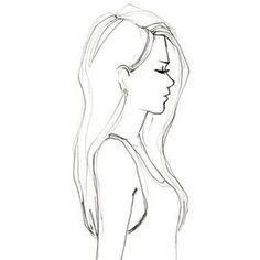 drawing, girl, and draw εικόνα