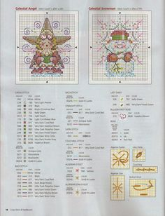 Вышивка крестом / Cross stitch : Ангел