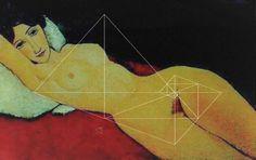 Modiglianis Nude mit Spiralschnitt