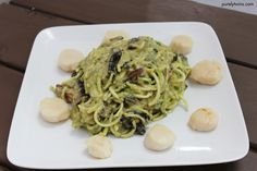 wannabe alfredo sauce with sizzlefish scallops recipe   tutorial video