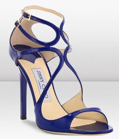 Jimmy Choo Lang Aegean Blue