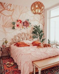 Create your Dream Bohemian Bedroom! - The Style Index - Create your Dream Bohemian Bedroom! – The Style Index You are in the right place about plant decor - Dream Rooms, Dream Bedroom, Home Bedroom, Bedroom Ideas, Bed Ideas, Bedroom Ceiling, Bedroom Designs, Modern Bedroom, Bedroom Makeovers