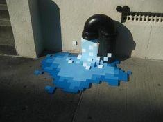 Street | Art | Pixelized