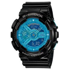 de078b322fce Casio G-Shock Mineral GlassGA-110B-1A2 Watch Men s Black G Shock Watches