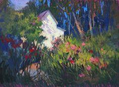 WILD GARDEN by Donna Shortt Pastel ~ 12 x 16