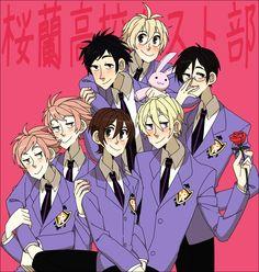 Colégio Ouran Host Club, Host Club Anime, School Clubs, High School Host Club, Cartoon Games, Manga Games, Manga Anime, Anime Art, Ouran Highschool